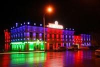 Наружное освещение: архитектурное освещение зданий, фасадов дома в Александрове