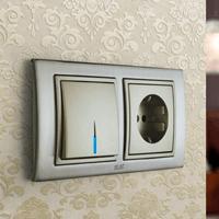 Установка выключателей в Александрове. Монтаж, ремонт, замена выключателей, розеток Александров.