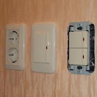 Монтаж, ремонт, замена выключателей Александров